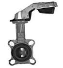 Купить Затвор поворотный дисковый для газа тип Баттерфляй KV-9 DN 150