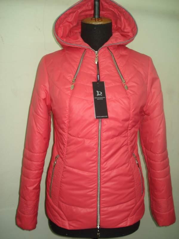 Купить Молодёжная весенняя куртка код: 51 коралл