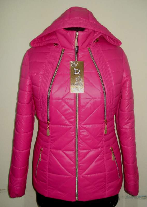 Buy Bright spring jacket on a snake a code: varnish 59th raspberry