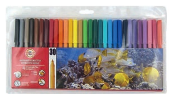 Цветная бумага, А4, двусторонняя