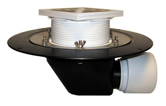 Воронка с электроподогревом c горизонтальным выпуском DN75/110 HL64.1B