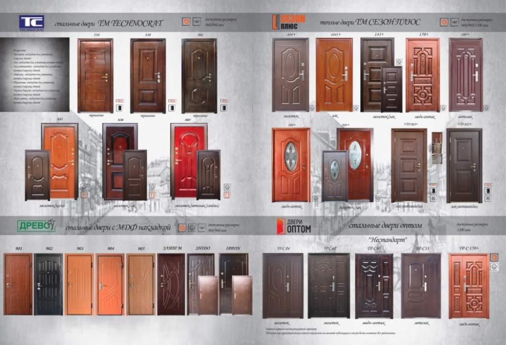 дверь металлическая каталог стоимость