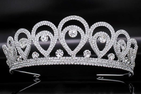 Buy High crown, diadem, tiara for a beauty contes