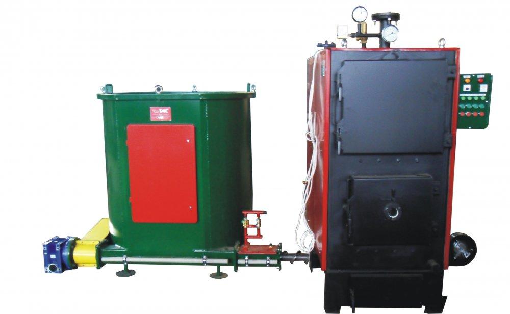 Котел твердотопливный водогрейный Biofire Plus (150-650 кВт)