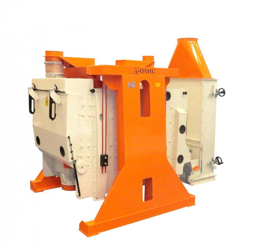 Ситовой сепаратор ПСО-100, плоско-решетный сепаратор, очистка зерна
