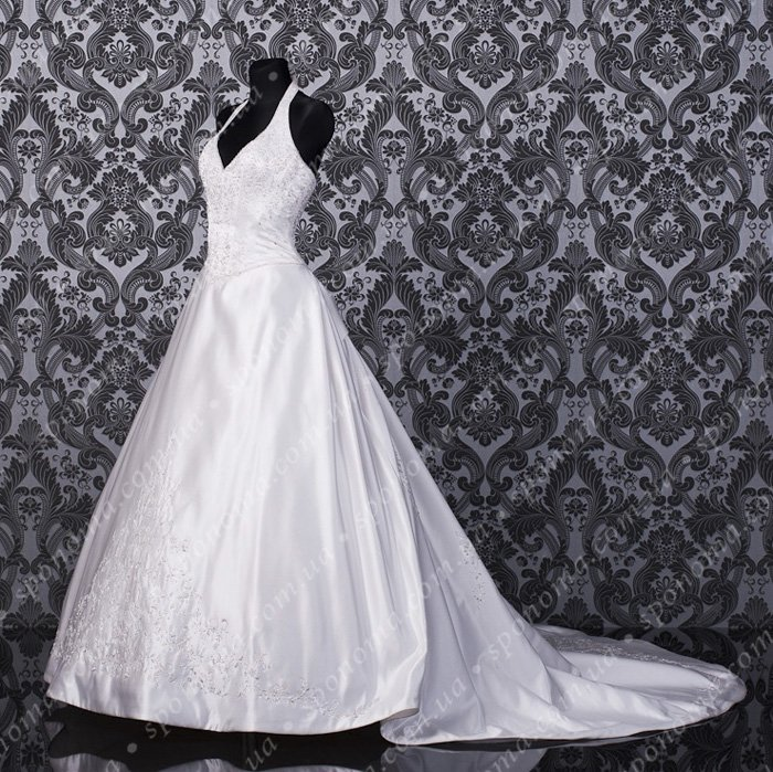 Satin wedding dress the American from Demetrios (USA) buy in Kiev