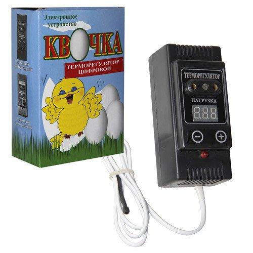 """Купить Цифровой терморегулятор для инкубатора """"Квочка"""""""