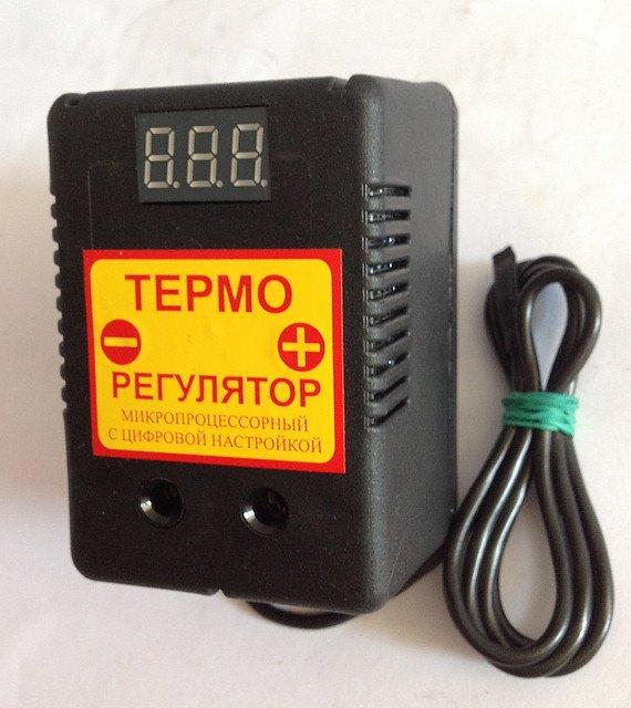 Купить Цифровой микропроцессорный терморегулятор для инкубатора ЦТР-2