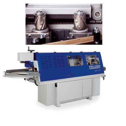 Кромкооблицовочный станок Felder G 460  с фуговальным агрегатом PROFI