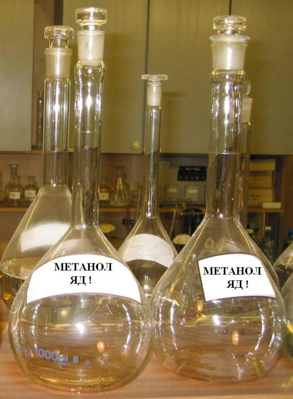Метанол фото