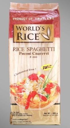 """Купить Спагетти рисовая, 400 г, TM """"World's rice"""""""