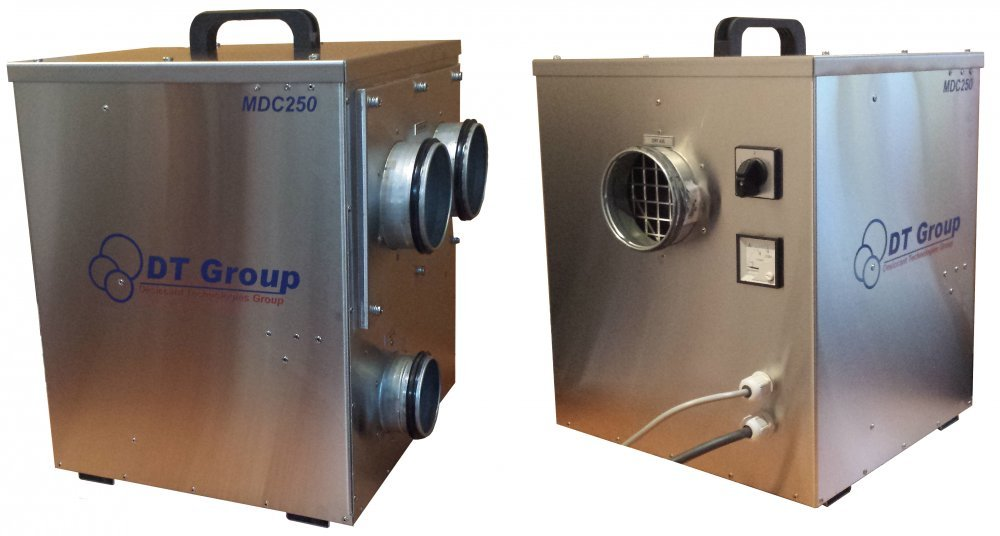 The adsorptive rotor dehumidifier of MDC250 air
