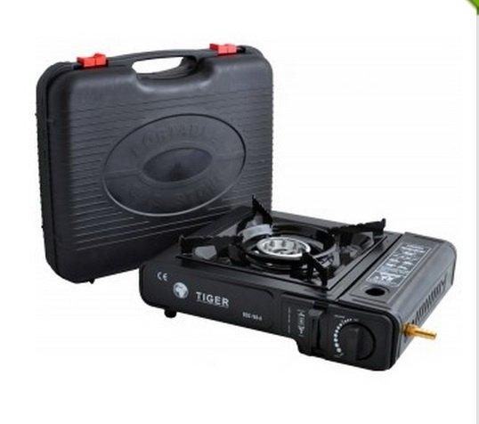 Купить Портативная газовая плита Tiger Bsz-188-A с адаптером газовая печка