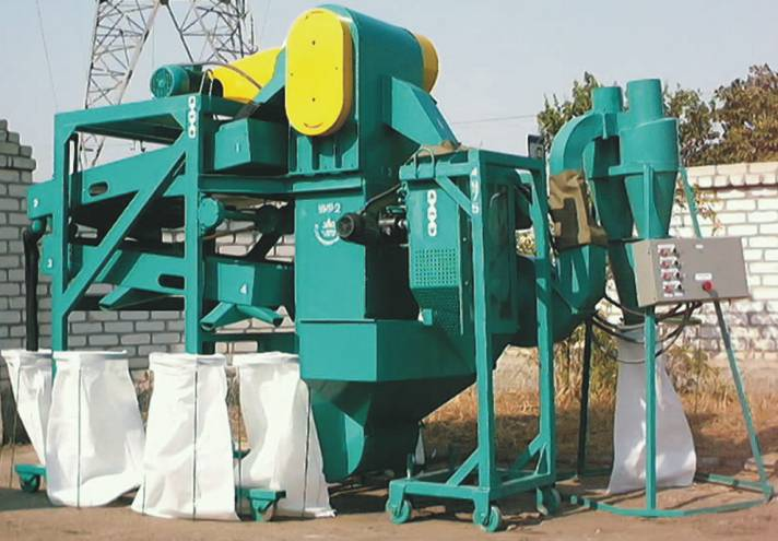 Production of the grain processing equipmen