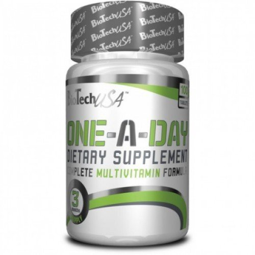 Buy Vitamins and minerals of One a Day 100 kaps BioTech