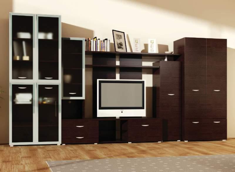стенки мебель для гостинной на заказ купить в киеве
