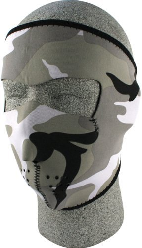 Купить Лицевая мото маска Zan Headgear Urban Camouflage
