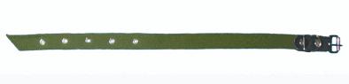 Купить Ошейник из брезента 45 см. Ширина: 20 мм, длина: 45 см, обхват шеи: 29-42 см