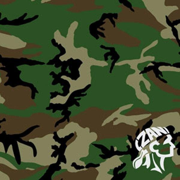 Купить Бандана Zan Woodland Camouflage
