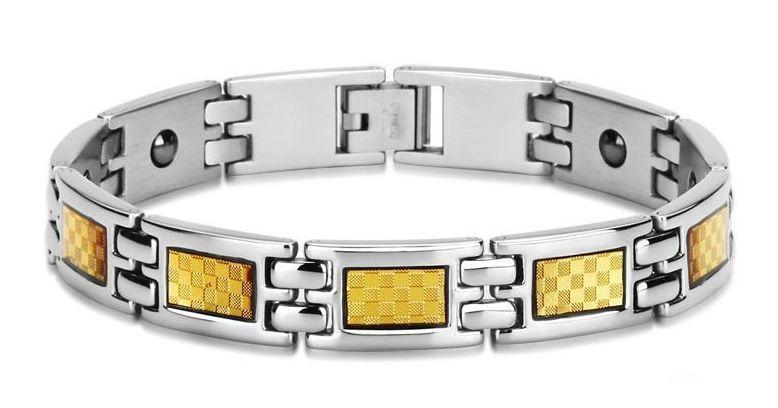Титановые браслеты с германием и магнитами