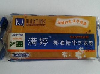 Мыло Мантинг для одежды от клеща демодекс с кокосовым молочком