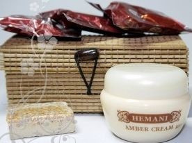 Купить Сухой восточный аромат Amber Jamid + крем