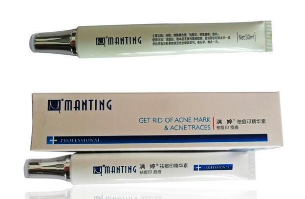 Крем корректор для лица от шрамов клеща демодекс Мантинг