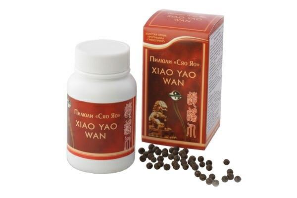 Пилюли «Сяо яо» Xiao Yao Wan