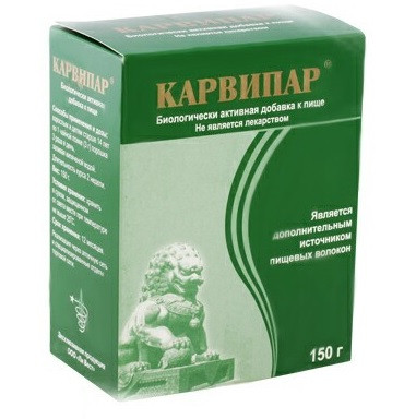 Карвипар Эффективен при паразитозах: лямблиозе, описторхозе.