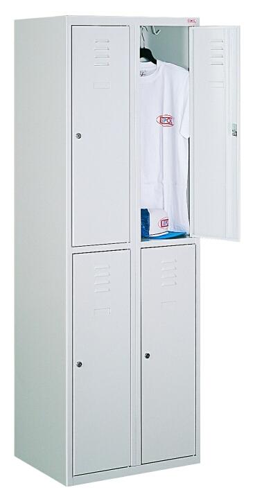 Ячеечный шкаф для камер хранения (локер) на 4 ячейки Sus 322