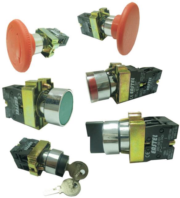 Купити Кнопки, вимикачі й світлосигнальна арматури