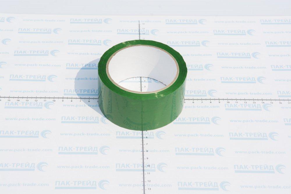 Клейкая зеленая лента 48х66
