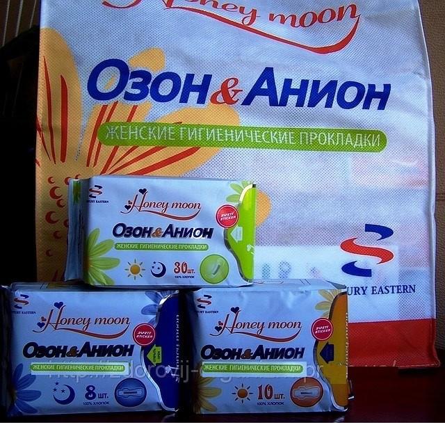 Купить Лечебные прокладки «ОЗОН & АНИОН» Вековой Восток