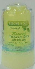Кристалический дезодорант Natural с Алое Вера . Безопасно природный минерал