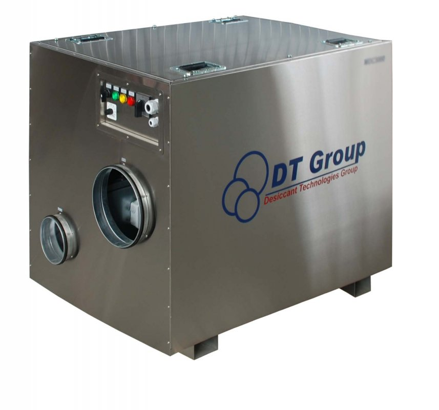 Промышленный адсорбционный роторный осушитель воздуха MDC2000
