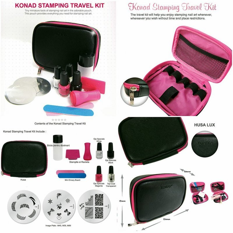 Set For A Stemping Of Konad Stamping Travel Kit Buy In Kiev