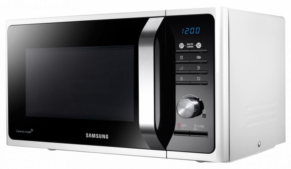 Купить Мікрохвильова піч Samsung MS 23 F 301 TFW BW