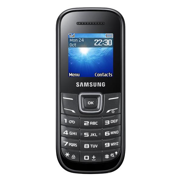 Купить Мобільний телефон Samsung GT E 1200 Black