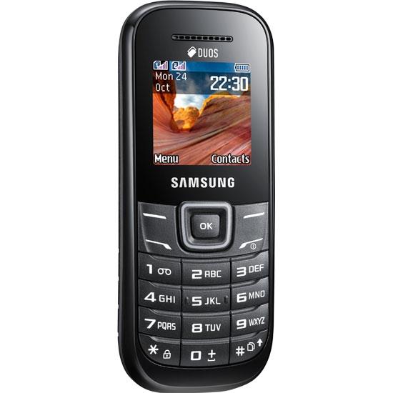 Купить Мобільний телефон Samsung GT E 1202 Black