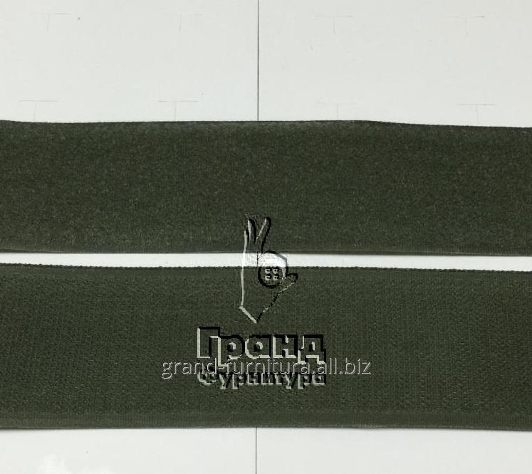 Липучка 50 мм, темно зеленая. Арт 5035