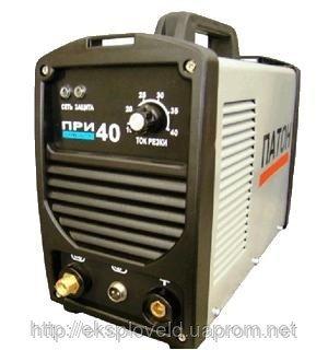 Купить Аппарат для воздушно-плазменной резки Патон ПРИ-L-40, 8мм