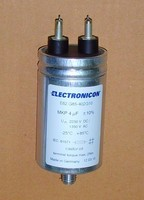 Конденсатор 4 мкф 2250В/1350 ВАС E62.G85-402G10