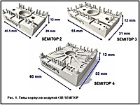 CIB (Converter — Inverter —Brake) модули SEMITOP