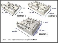 Мостовые модули серии SEMITOP