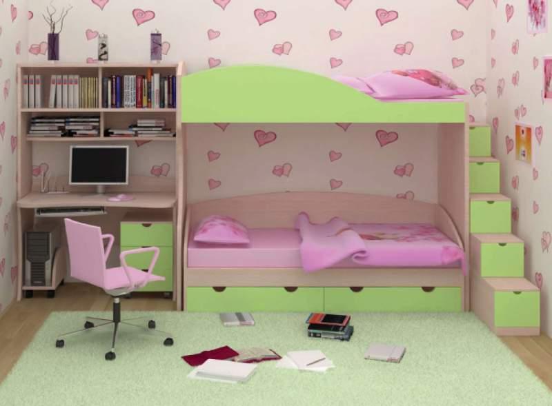 Купить Мебель для детских комнат: кровати, шкафы, столы, тумбы