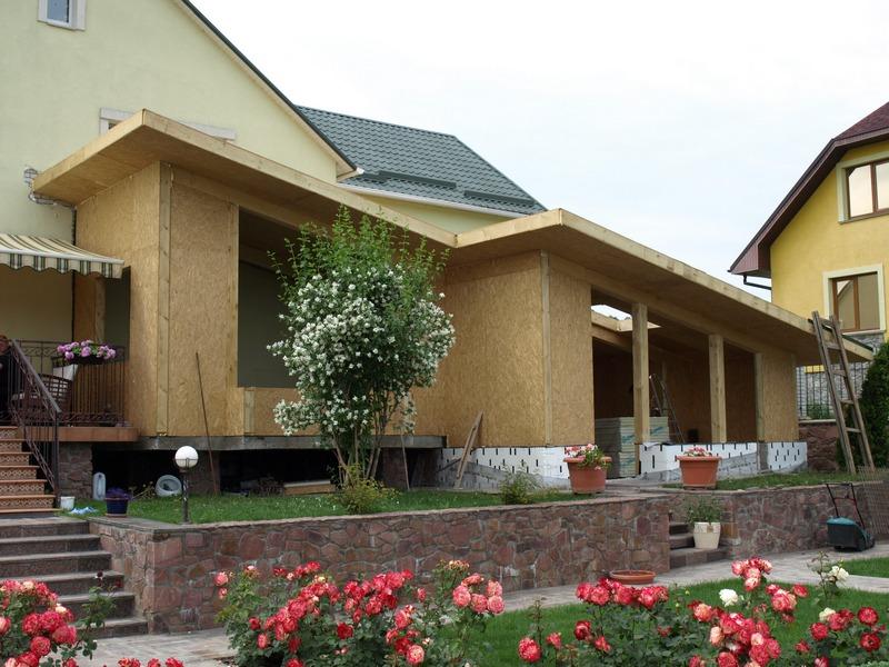 Дом из Сип панелей. (SIP панель)Киев. Дома каркасные деревянные