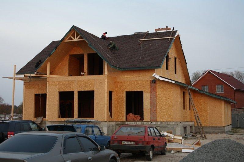Дома дачные, коттеджи. Канадская технология. Киев. Дома каркасные деревянные