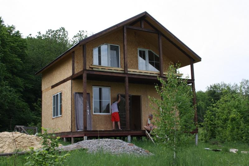 Дома панельные, деревянные. Канадская технология. Киев. Дома панельные быстросборные