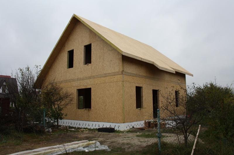 Канадский дом. Дома скелетной конструкции