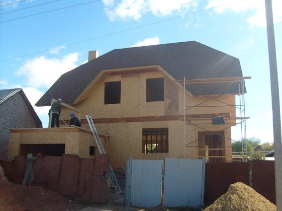 Строительство домов по технологии СИП/SIP. Дома каркасные деревянные